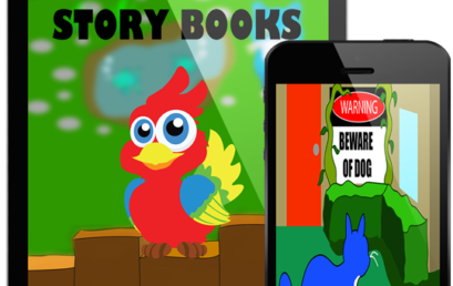 Learn with Clever Parrot Story books
